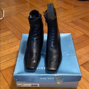 NINE WEST ANKLE BOOTS!!!